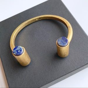 Madewell Lapis Cuff Bracelet